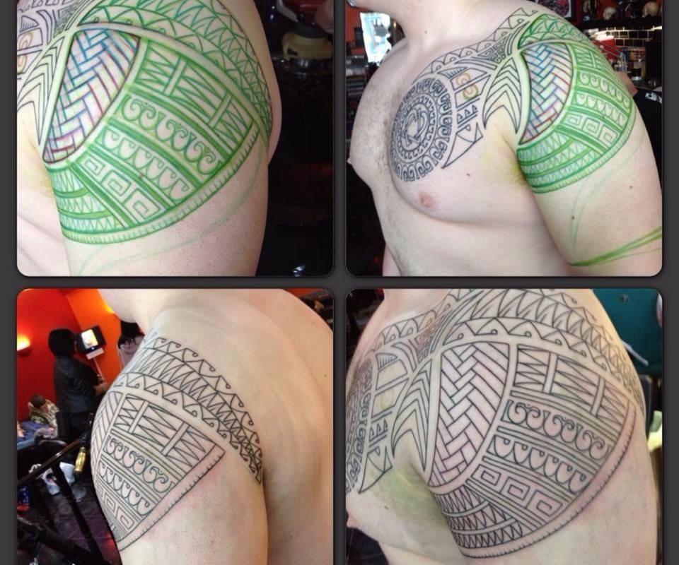 Shoulder Chest Design