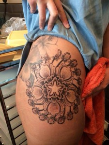 Hip Flower Design