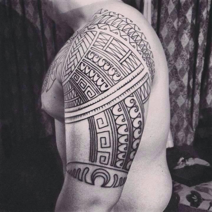Male Shoulder Design